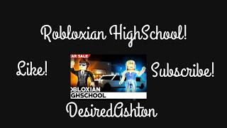 Robloxian HighSchool | ROBLOX | Desired Ashton