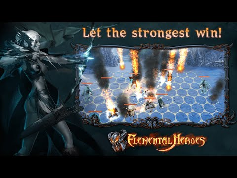 Elemental Heroes Gameplay IOS / Android