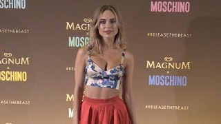 Kimberley Garner at Magnum Beach Photocall in Cannes