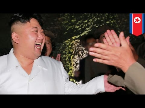 Dancing Kim Jong Un: DPRK leader orders nationwide dance party after missile launch - TomoNews