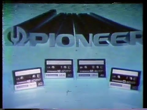 Pioneer Compact Cassette Tapes TV Commercial 1980 with JS Bach