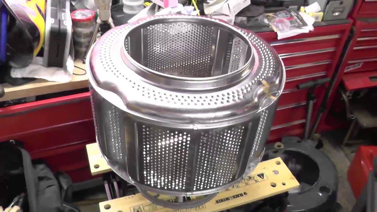Washing Machine Drum - Fire Pit - YouTube