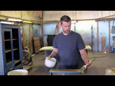 How to Remove Paint Scrapes From Furniture : Furniture Restoration