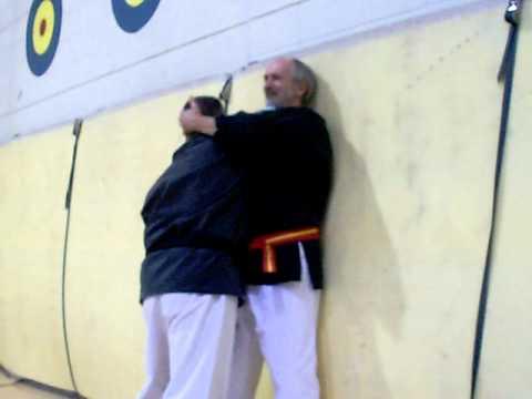 Self-Defense taught at the University of Wyoming by Grandmaster Hausel from Gilbert, Arizona.