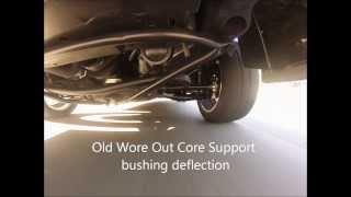 Core Support Bushing replacement