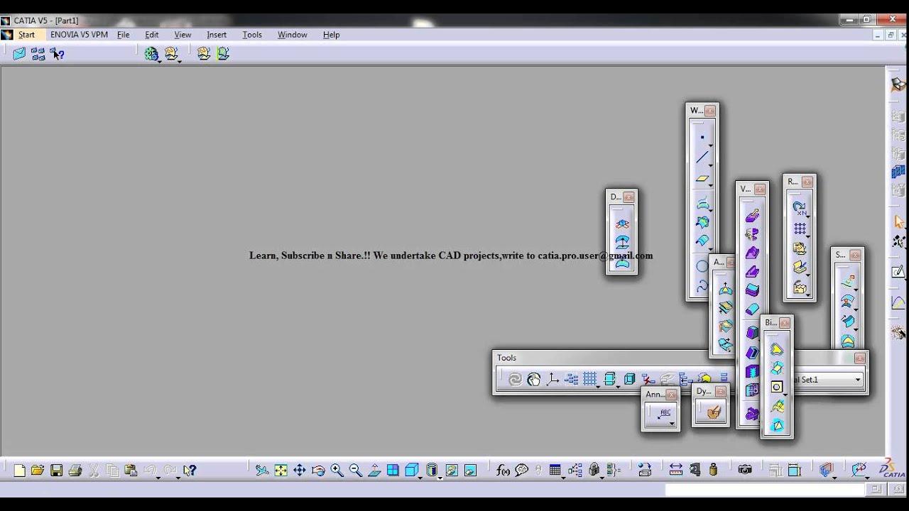 catia v5 macro tutorials vb scripting essentials create a new part rh youtube com Access VBA Macro Excel VBA