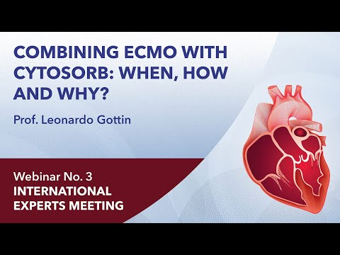 Combining ECMO with CytoSorb: when, how and why? | Leonardo Gottin | Webinar 3