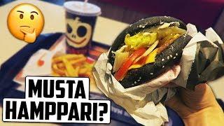 Syödään Musta Hampurilainen?
