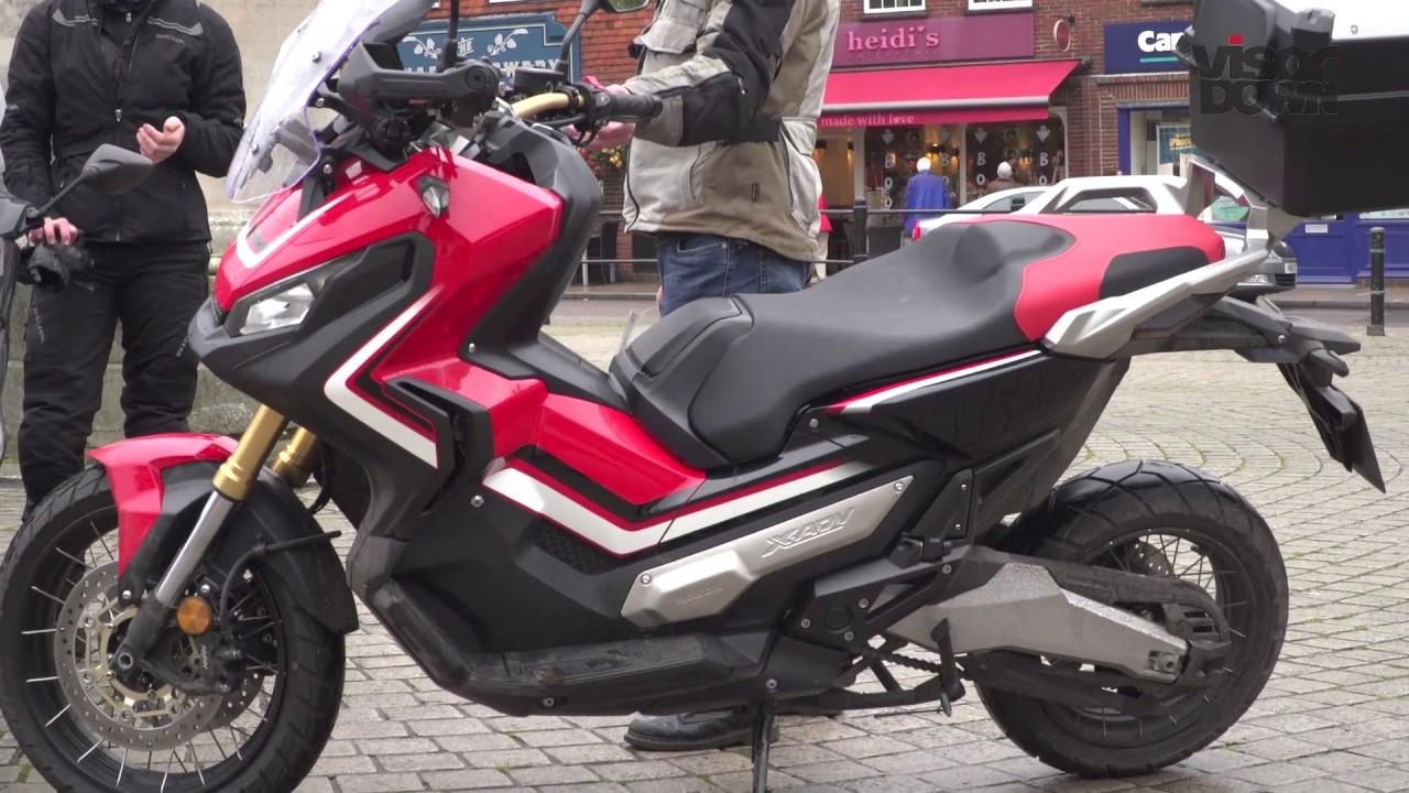 Honda X Adv Scooter Review Visordowncom Youtube