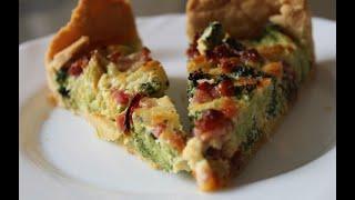 MiA's Brokkoli-Schinken-Quiche