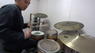 Lay In Vein (Intro Riff Drum Solo) 드럼 솔로 연주 - Christian Scott / Drummer Seungmin Baek 드러머 백승민