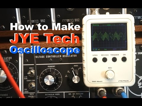 Dso 138 Oscilloscope Build Walk Through Avoiding The