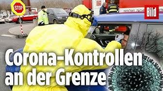 Corona-Kontrollen an der deutsch-tschechischen Grenze