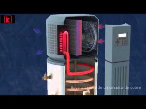 Bomba de calor calentador de agua youtube - Bomba de calor ...