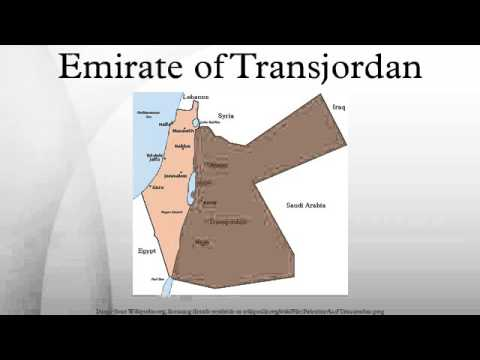 Emirate of Transjordan