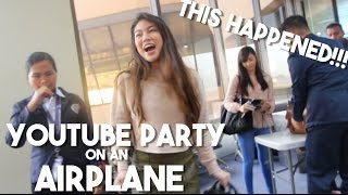 Filipino Youtubers Party on the Plane! (ft. Janina Vela, Alodia, Donnalyn Bartolome)