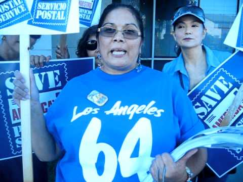 2011 Post Office Rally Speech - El Monte, CA