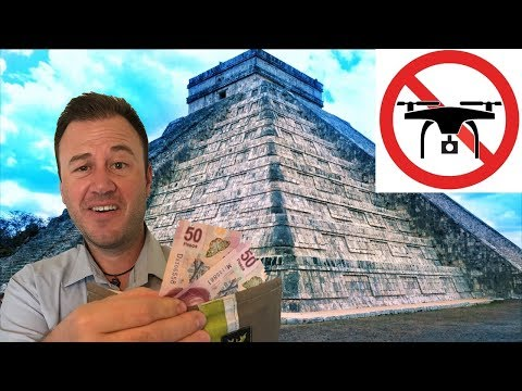 DETAINED for Flying a Drone in Mexico!!! Money Talks and we Walked.
