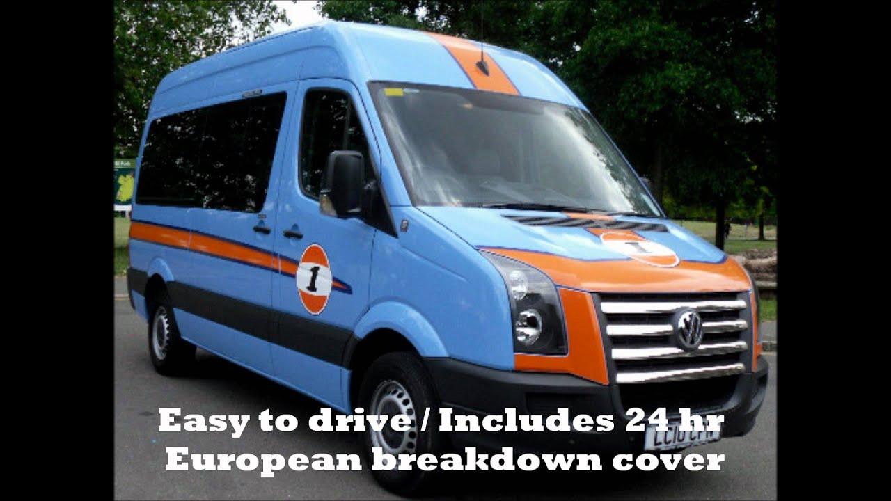 UK Music Tour Bus Hire Splitter Van Band Europe