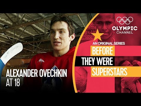 Meeting a Teenage Alex Ovechkin | Before They Were Superstars