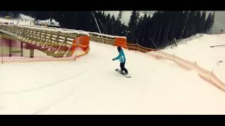 Буковель. Катание на сноуборде.(, 2015-04-18T16:43:24.000Z)