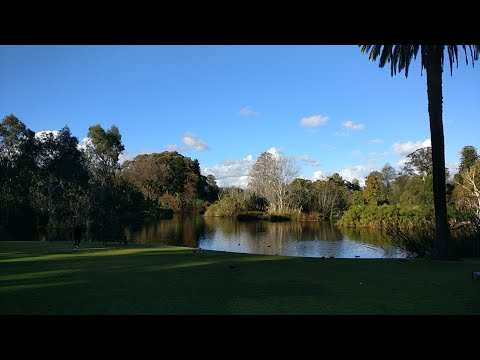 Royal Botanical Garden, Melbourne, Australia - Beautiful Place