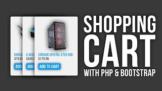 Responsive PHP Shopping Cart with Bootstrap Mp3