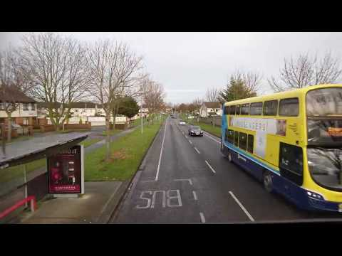 Bus ride from the town of Dublin Blanchardstown