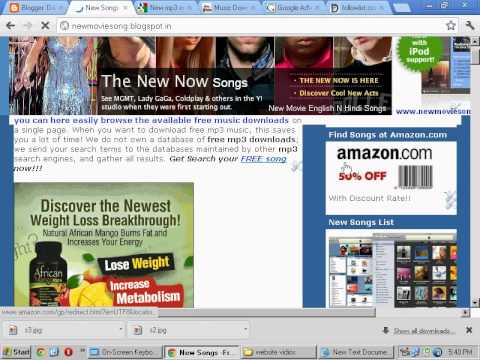 New mp3 english Songs-Free Download.