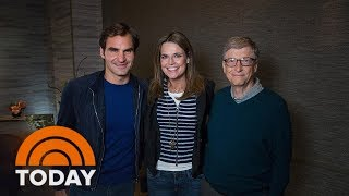 Savannah Guthrie Has Her Game Face On To Play Roger Federer | TODAY