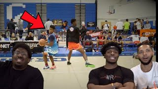 THIS MOVE IS ILLEGAL!! 🤮  Zion Harmon King of the Court   HouseReacts