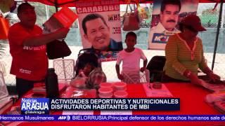 """Municipio Mario Briceño Iragorry le dio""""Un K.O a la violencia"""" 21-06-2014"""
