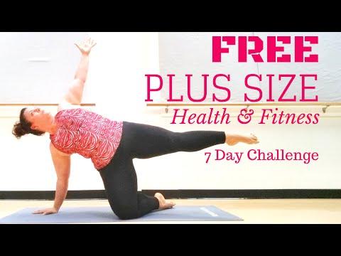 7 Day FREE Plus Size Exercise Meal Mindset Program