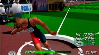 Virtua Athlete 2000 Dreamcast Gameplay