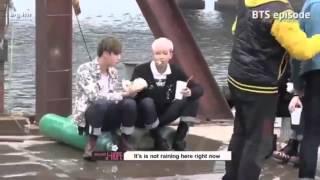 BTS RUN MV behind the scene