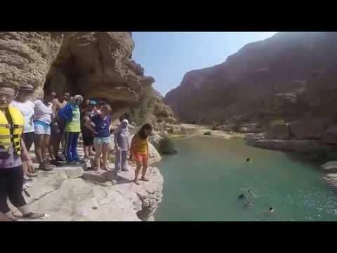 Oman Wadi Shab weekend