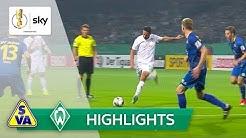 Atlas Delmenhorst - SV Werder Bremen 1:6 | Highlights - DFB-Pokal 2019/20 | 1. Runde