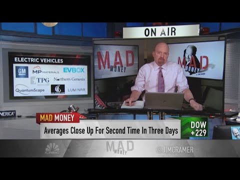 Jim Cramer recommends theme stocks to buy on the next market sell-off