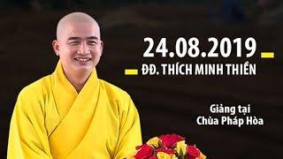 2 ĐIỀU NÊN LÀM khi đến Chùa / ĐĐ.Thích Minh Thiền (giảng tại Chùa Pháp Hòa - Bình Phước)