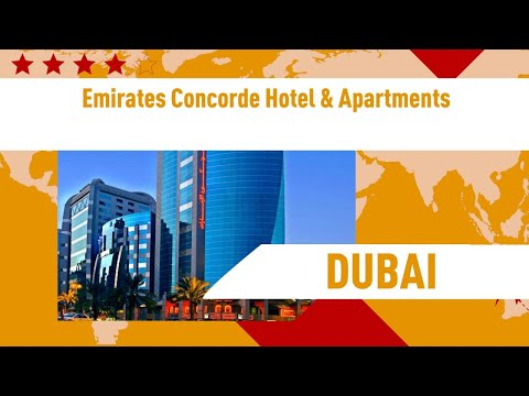 Emirates Concorde Hotel & Apartments 4 ⭐⭐⭐⭐  Review Hotel In Dubai, UAE