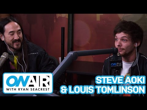 Louis Tomlinson Gives One Direction Status Update| On Air with Ryan Seacrest