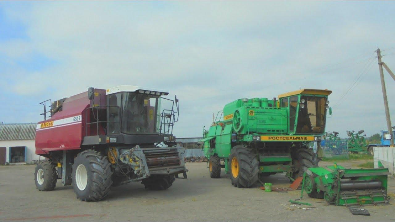Гусеничный трактор Т-4 (Алтай) на колесах от Дон-1500 1 - YouTube