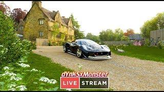 ???? Forza Horizon 4 bo lubie zapier***ac / na kierownicy + shifter - Na żywo
