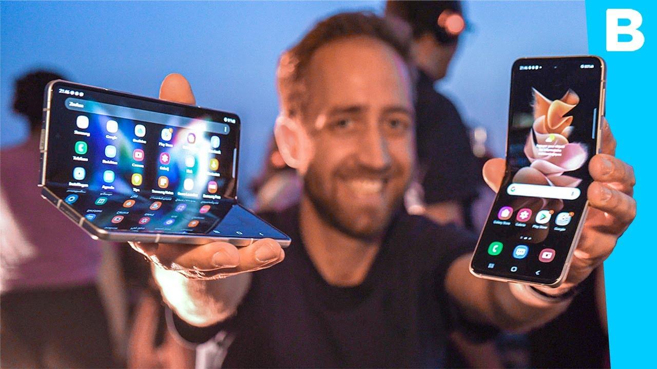 Eerste indruk de nieuwe Samsungvouwtelefoons