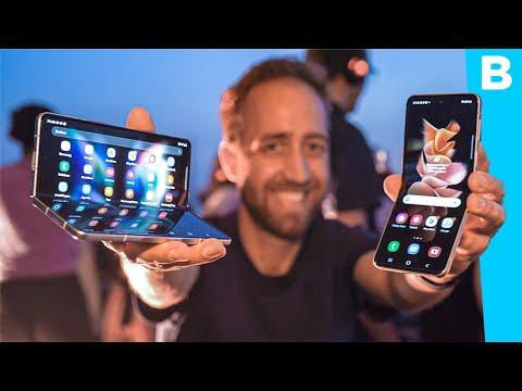 Eerste indruk: de nieuwe Samsung-vouwtelefoons!