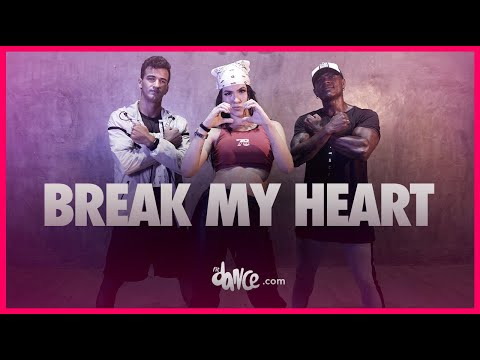 Break My Heart - Dua Lipa | FitDance TV (Coreografia Oficial) Dance Video