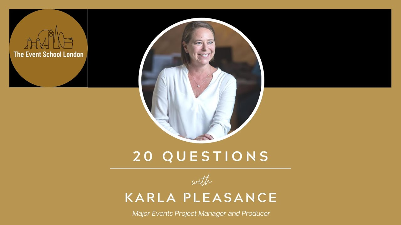 20 Questions with Karla Pleasance, International Major Event Specialist