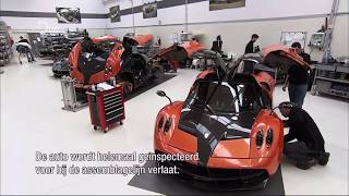 How It's Made - Pagani Huayra - NL subs