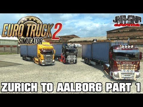 ETS 2 MP | Zurich to Aalborg | PART 1