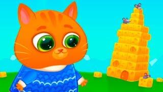 КОТЕНОК БУБУ #93 Уборка в доме кота и его сон. Мультик игра про котят на канале пурумчата